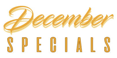 Holiday Specials are Here!